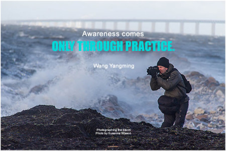 Wang Yangming Awareness comes only through practice